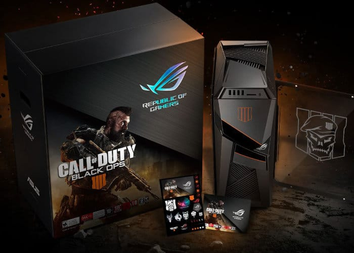 ASUS ROG Call of Duty Black Ops 4 Edition gear