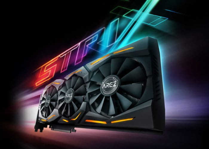 ASUS Radeon RX 590 ROG STRIX graphics card