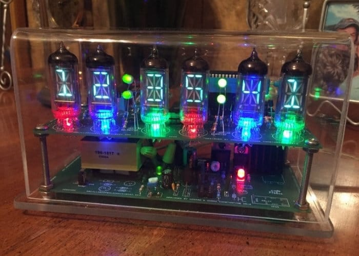 Advanced Nixie tube clock