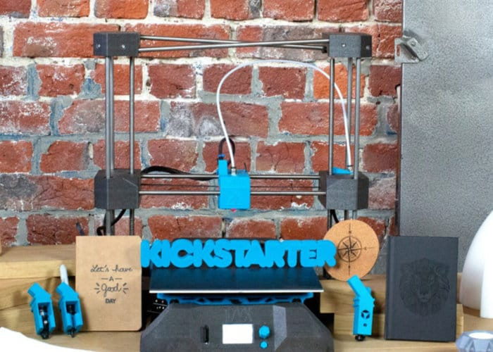 Affordable EVY 3D printer