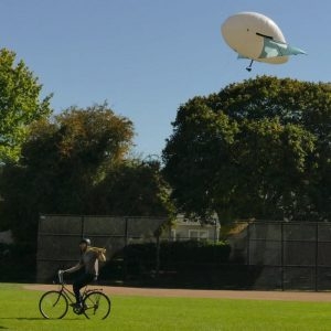 Airpup kite balloon for videography, communications, and meteorology