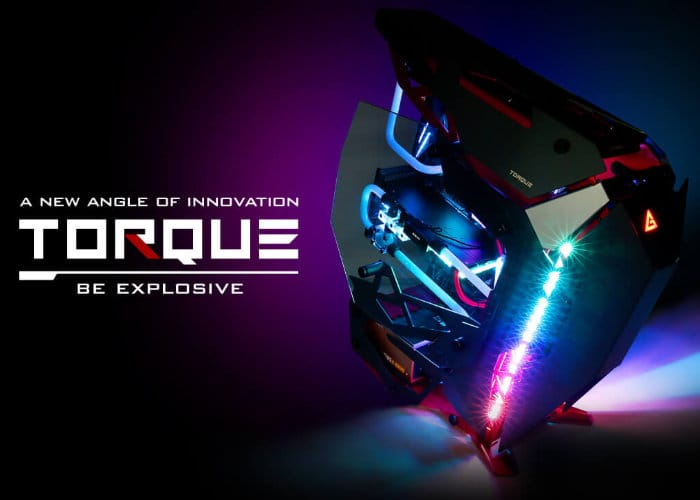 Antec Torque open-air PC chassis €379