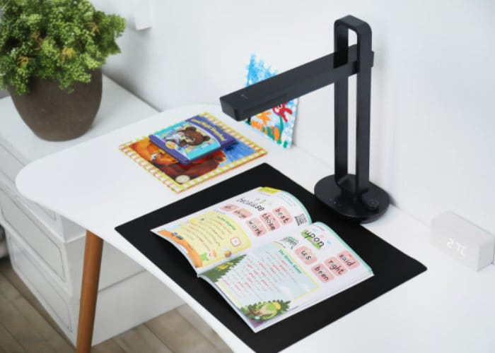 Aura desktop scanning system