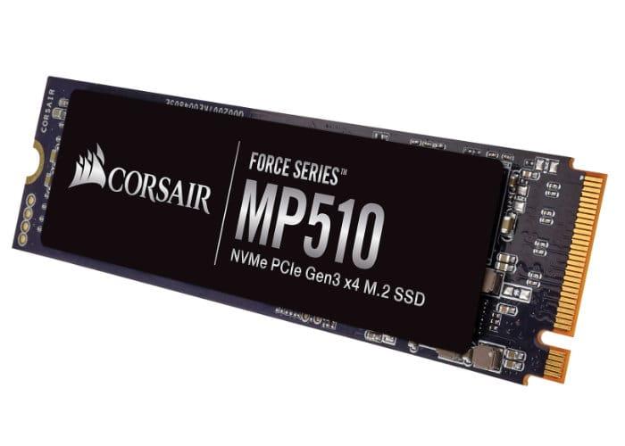 Corsair Force Series MP510 M.2 PCIe NMVe SSD