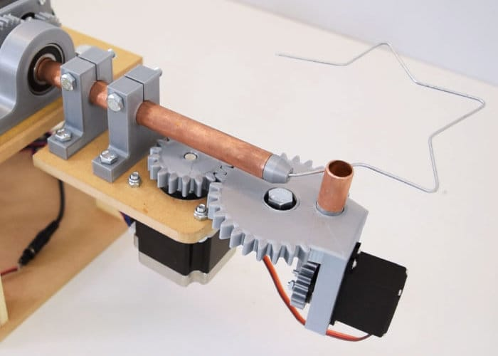 DIY Arduino 3D wire bending machine - Geeky Gadgets