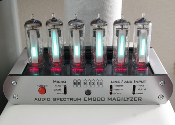 DIY Audio Spectrum Analyzer kit
