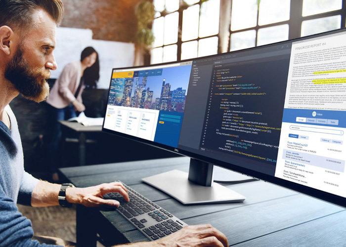 Massive Dell 49-inch ultra-wide monitor $1,700