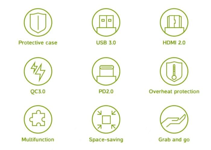 DockCase MacBook USB-C-
