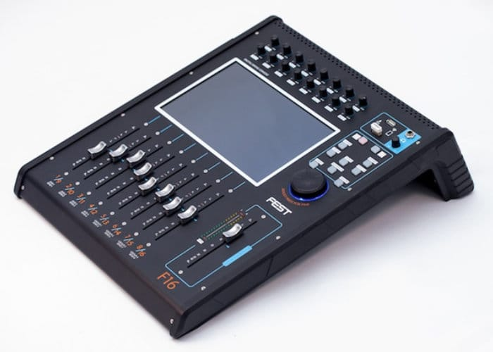 F16 16 channel digital mixer
