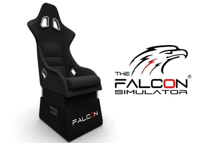 Falcon simulator chair