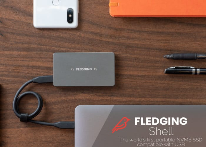 Fledging Shell external SSD