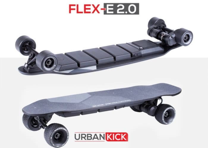 Flex-E 2.0 electric skateboard
