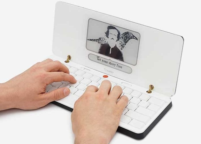 Freewrite Traveler portable writing machine