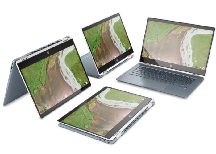 HP x360 14 Chromebook