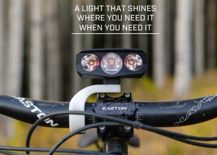 Hydra 3 bike light