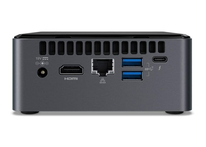 Intel NUC Coffee Lake mini PCs