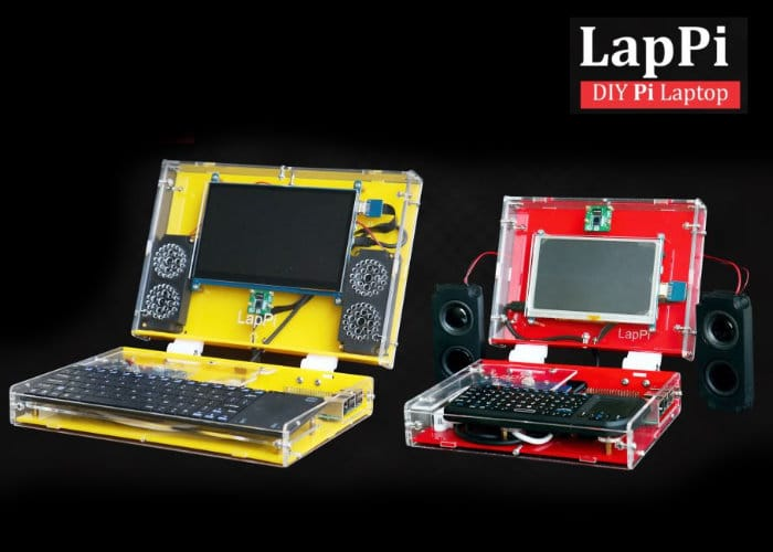 LapPi DIY Raspberry Pi laptop
