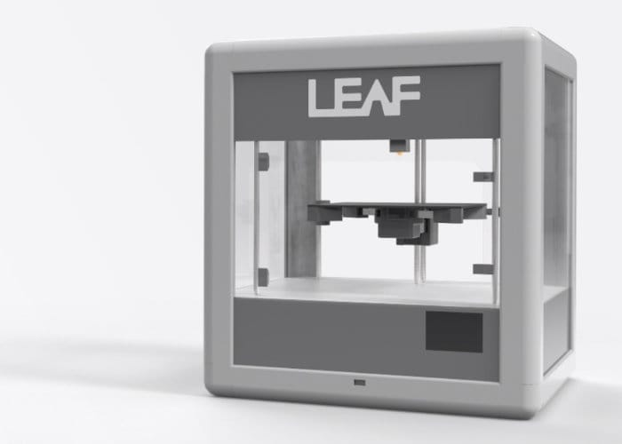 Leaf-a personal 3D printer hits Kickstarter