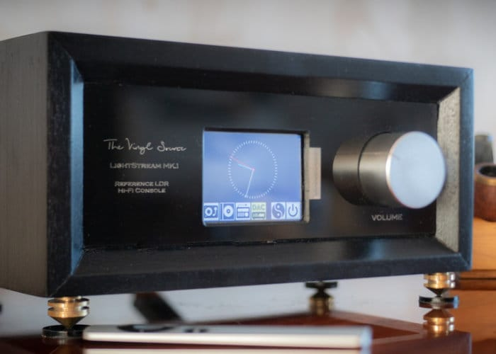 LightStream LDR hi-fi console and pre-amplifier