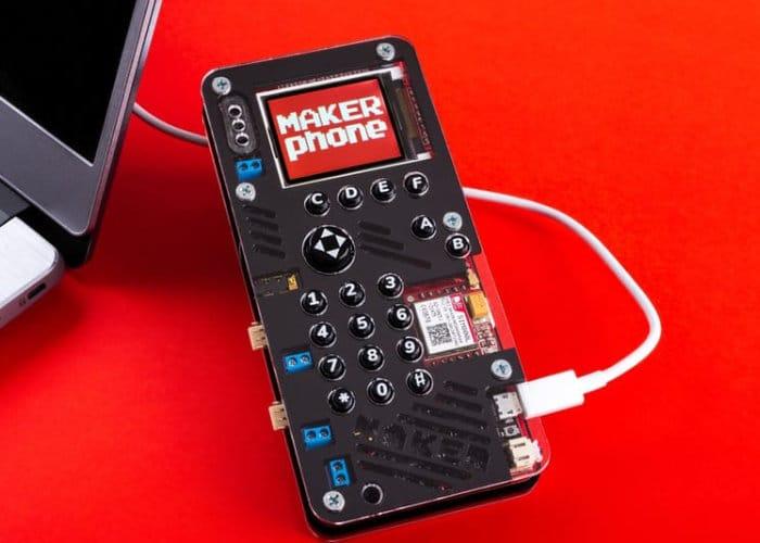MAKERphone DIY mobile phone hits Kickstarter