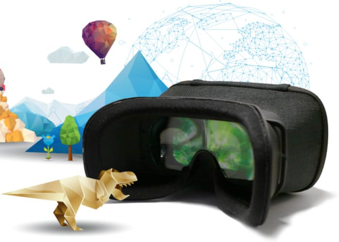MagiMask HD augmented reality headset