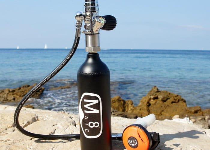 Mate8 mini scuba diving tank idea for travelling