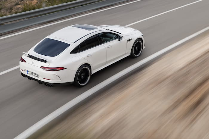 Mercedes AMG GT 4MATIC+ four-door Coupe
