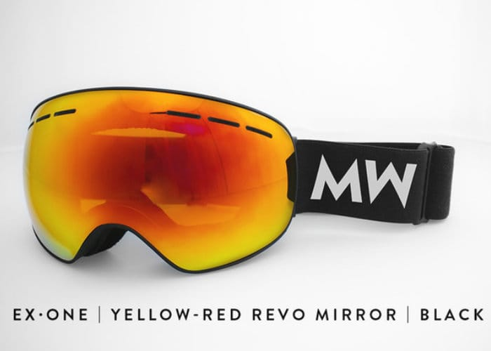 MessyWeekend ski and snowboard goggles