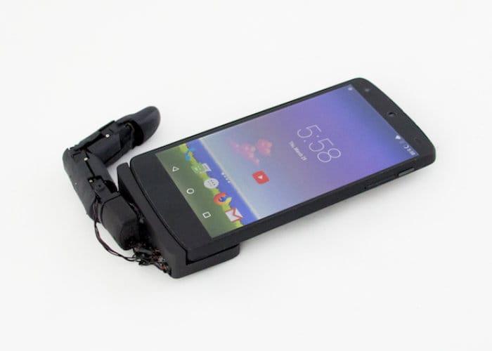 MobiLimb smartphone robotic finger