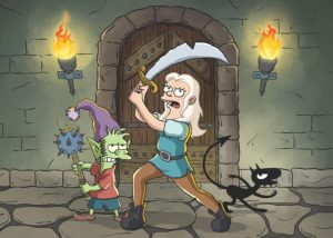 Netflix Original Disenchantment created by Matt Groening continues into 2021
