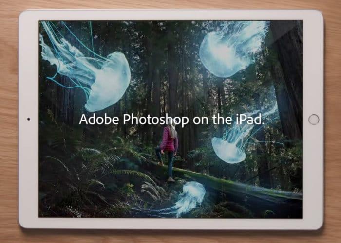 New Adobe Photoshop CC iPad app