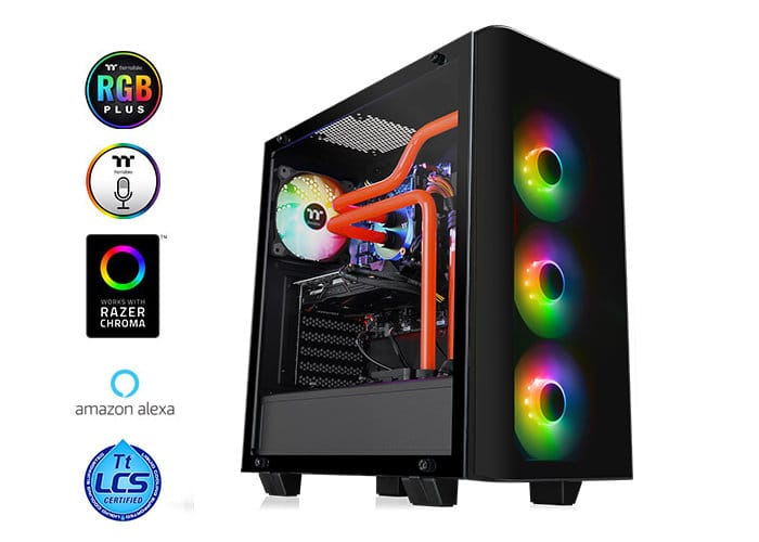 New Thermaltake View chassis introduced Amazon Alexa