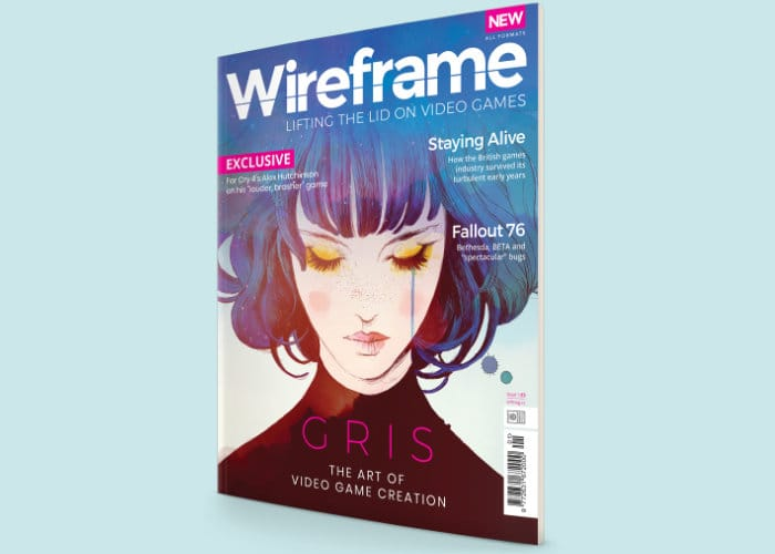 New Wireframe games magazine
