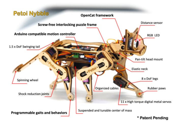 Open source robotic kit