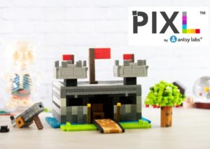 PIXL magnetic building blocks
