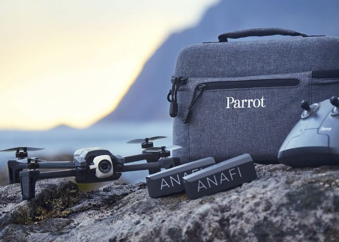 Parrot Anafi drone update adds new photo modes and more