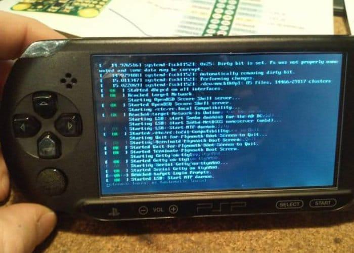 PiSP Raspberry Pi Zero PSP games console mod - Geeky Gadgets