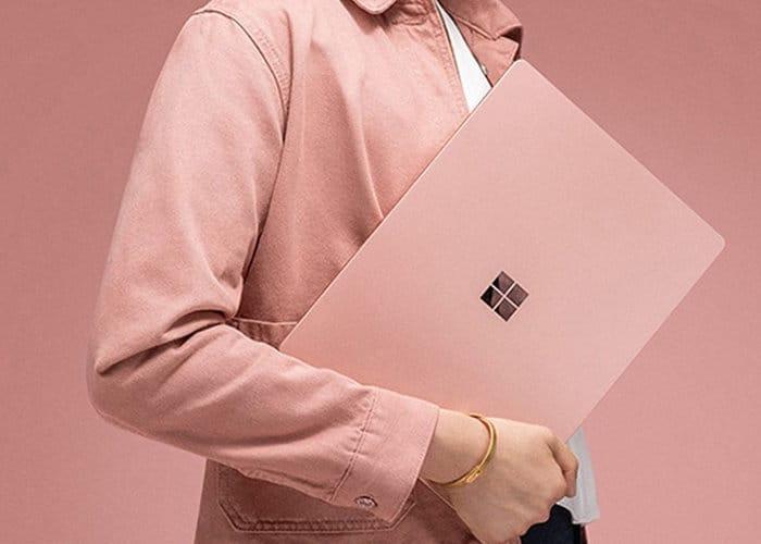 Pink Surface Laptop 2