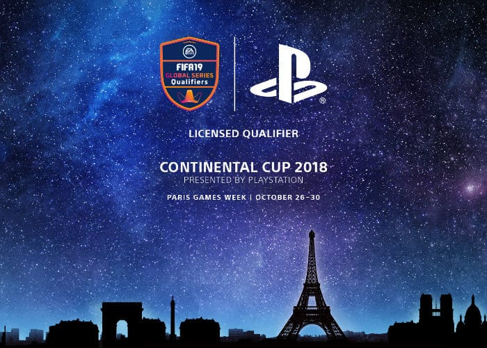 PlayStation presents the FIFA 19 Continental Cup at Paris Games Week