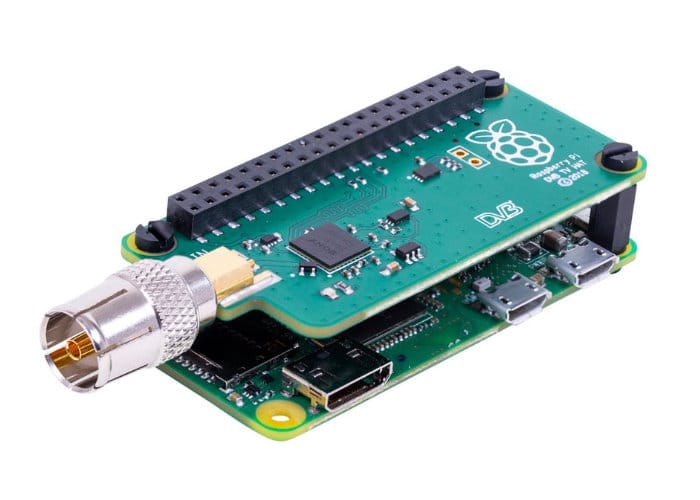 Official Raspberry Pi TV HAT launched for £20