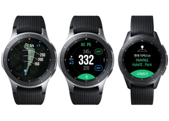 Samsung Galaxy Watch Golf Edition smartwatch