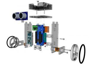 T-Bots DIY self balancing robot kit