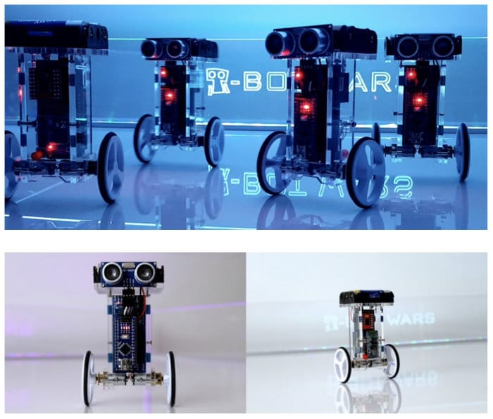 T-Bots DIY self balancing robot kit
