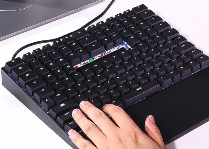 TYPI unique ergonomic keyboard
