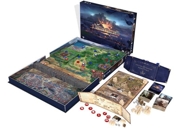 Unrecorded Siege board game