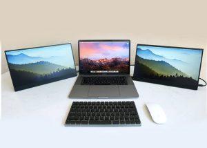 Vinpok Split touchscreen adds extra desktop to your laptop or smartphone