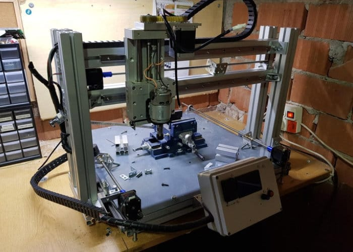 Vischio high speed 3 axis CNC mill