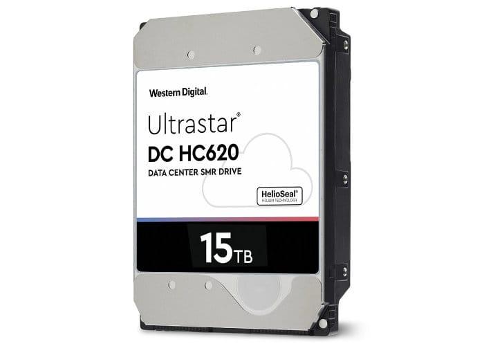WD 15TB Ultrastar DC HC620 HDD