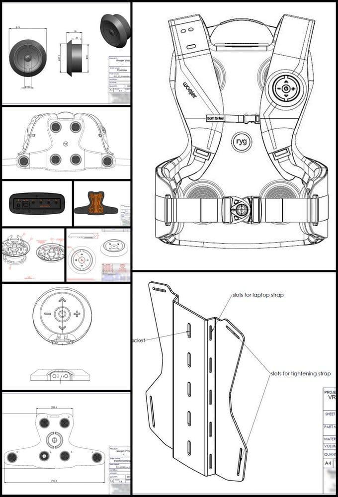 Woojer Ryg haptic vest Kickstarter