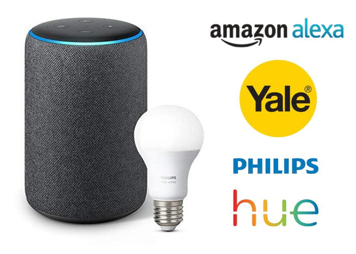 Yale Sync Smart Home Security Alarm Alexa and Phillips Hue